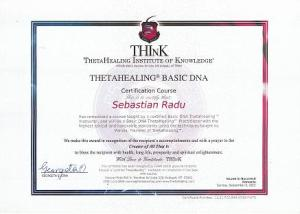 BASIC DNA PRACTITIONER CERTIFICATE