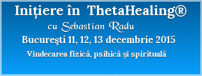 Initiere in ThetaHealing 11 dec