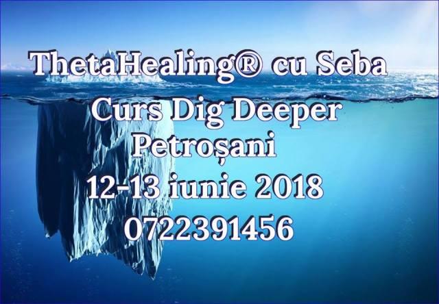 Curs Dig Deeper Petrosani 12-13 iunie 2019