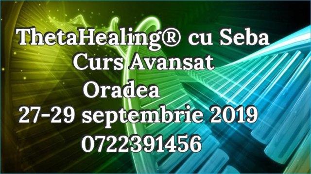 avansat Oradea 27 - 29 septembrie 2019